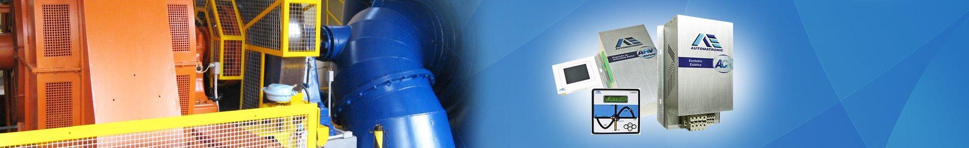 Soluções customizadas em dispositivos eletrônicos para centrais hidrelétricas, termoelétricas e projetos especiais.